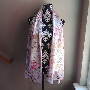 NWOT Asian Silk Scarf